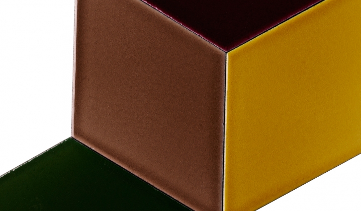 The Rhombos tile can be combined in geometric compositions with surprising effects